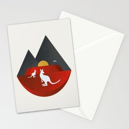 The Australian Outback Stationery Cards