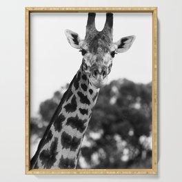 Giraffe Portrait Serving Tray