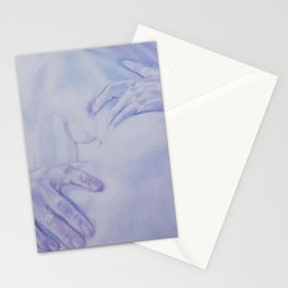 Lovers Embrace Stationery Cards