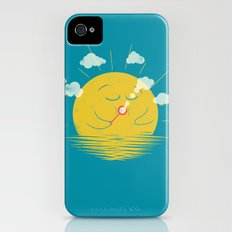 Partly Cloudy Slim Case iPhone (4, 4s)