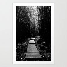 Bamboo Trail Art Print