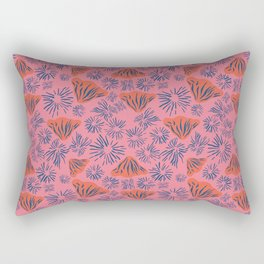 Mushroom Tales Rectangular Pillow