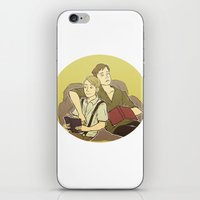 stucky iPhone & iPod Skins featuring stucky by maria euphemia