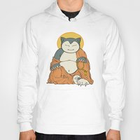 snorlax Hoodies featuring Hotei Snorlax by stablercake