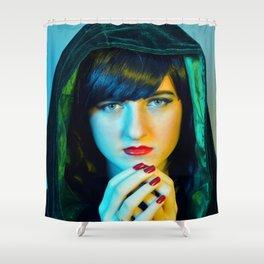 Evil Queen Shower Curtain