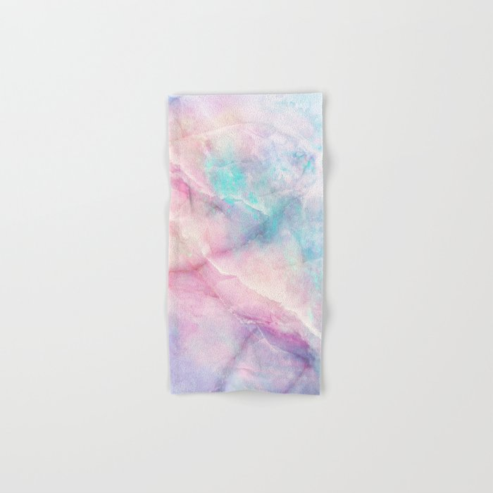 Iridescent marble Hand & Bath Towel