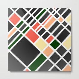 Aerial - Urbane Metal Print