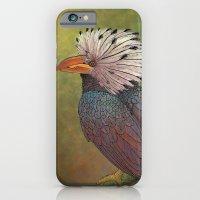 White Crested Hornbill iPhone 6s Slim Case