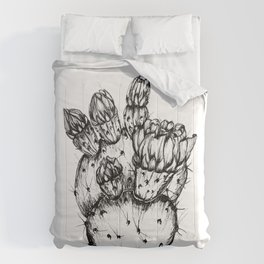 Cactus Flower Comforters