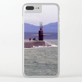 USS OHIO (SSBN-726) Clear iPhone Case
