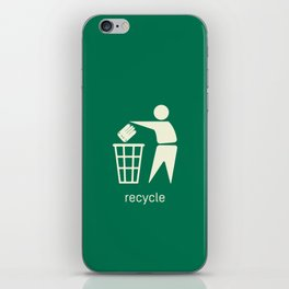 Recycle Your Monsters iPhone Skin