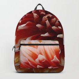 Cognac-Colored Dahlia Backpack