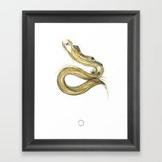Fáfnir Framed Art Print