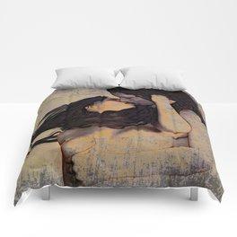 Women Kissing Comforters