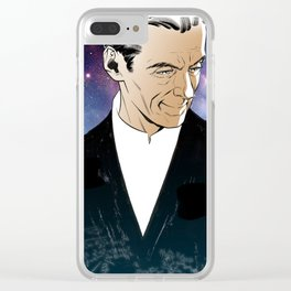 Twelfth Doctor Clear iPhone Case
