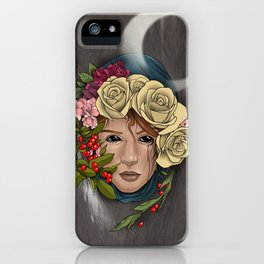 Garden Godess iPhone Case