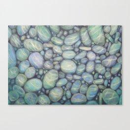 RiverPebbles Canvas Print
