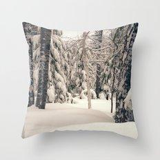 Winter Woods 2 Throw Pillow