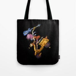 That yellow Vespa! Tote Bag