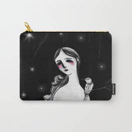 Mujer y Pájaro Carry-All Pouch