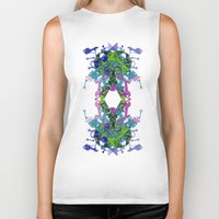key Biker Tanks featuring Key by Emma Stein