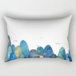 the moutains are comming Rectangular Pillow