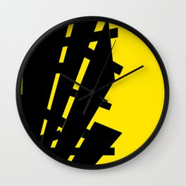 Flag of Information Wall Clock