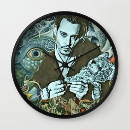 sweet Depp Wall Clock