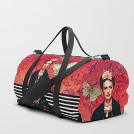 Frida enamorada Duffle Bag