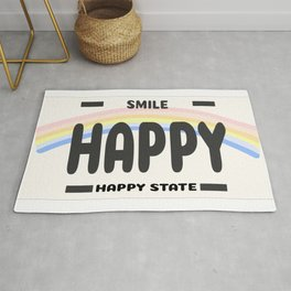 Happy State Rug
