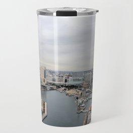 A Cloudy Yokahama Morning Travel Mug