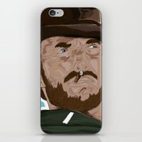clint eastwood iPhone & iPod Skins featuring Clint Eastwood by  Steve Wade ( Swade)