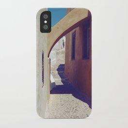 Santorini Walkway III iPhone Case