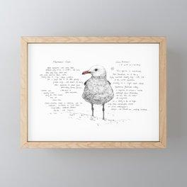 Heermann's Gull Framed Mini Art Print