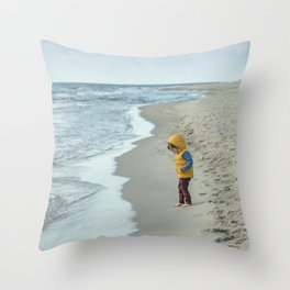 Alone with nature Throw Pillow