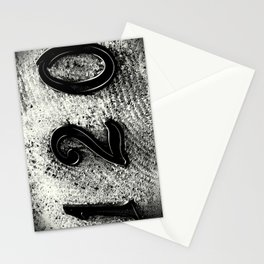 120 Numbers Stationery Cards