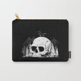 Skull Forest Carry-All Pouch
