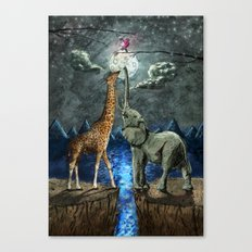 The Magical Forces of the Moon Canvas Print