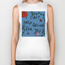 I Can't Help Falling For You | Veronica Nagorny Biker Tank