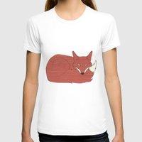 mr fox T-shirts featuring Mr. Fox by Elephant Trunk Studio