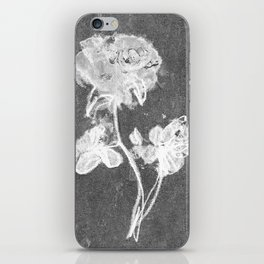 WHITE ROSE iPhone Skin