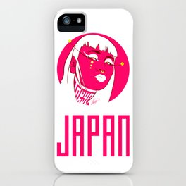 Tokyo Woman Japan iPhone Case
