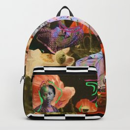 JAVA flowers shadow Backpack