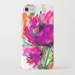 Serendipity 2A by Kathy Morton Stanion iPhone Case