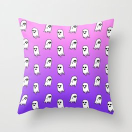 GHOST FRIENDS Throw Pillow