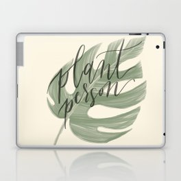 Plant Person Laptop & iPad Skin
