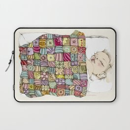 sleeping child Laptop Sleeve