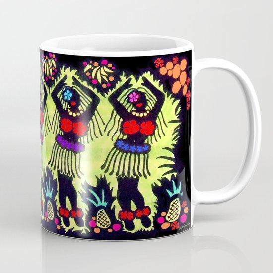 Hula Dancers Coffee Mug