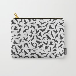 illustration of seamless pattern of flying birds Carry-All Pouch