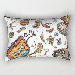 Hip hop lifestyle Rectangular Pillow